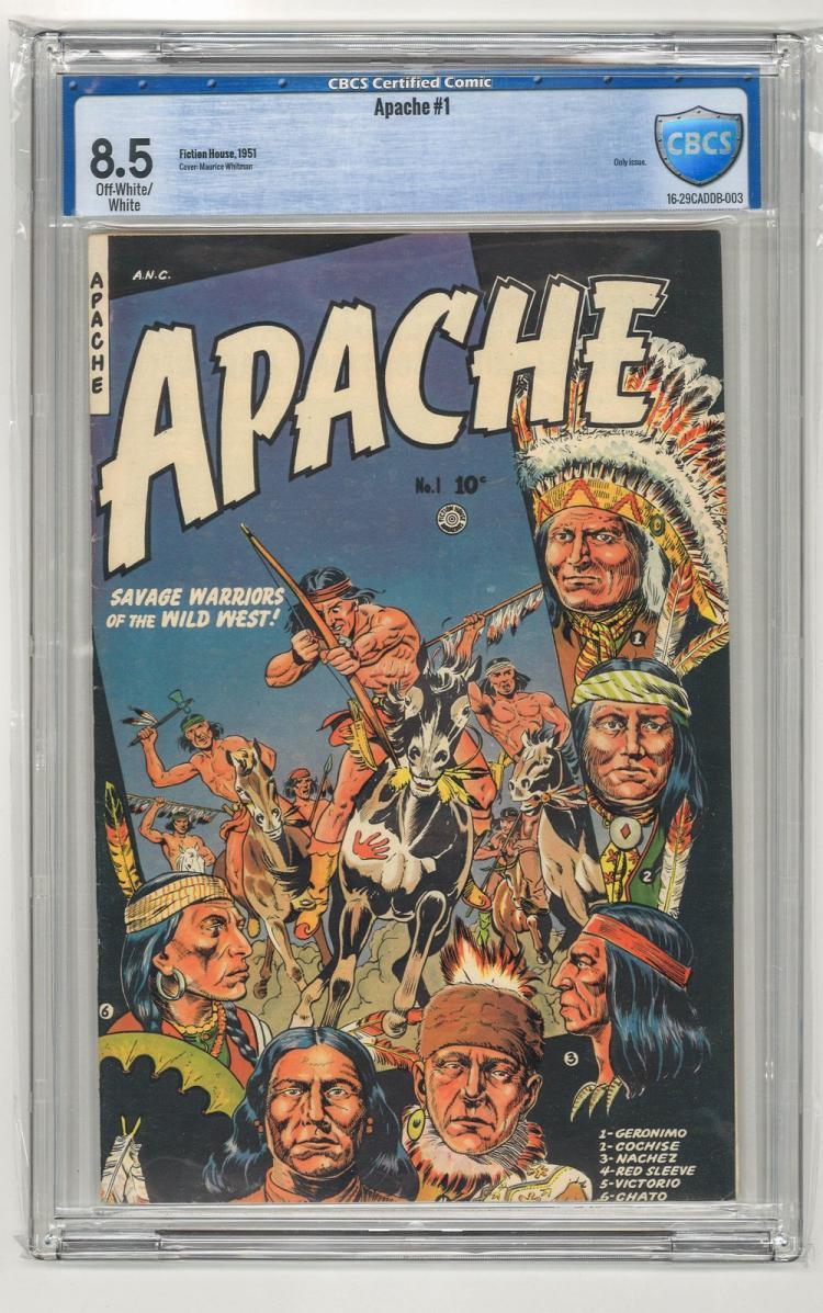 CBCS 8.5 Apache #1 1951