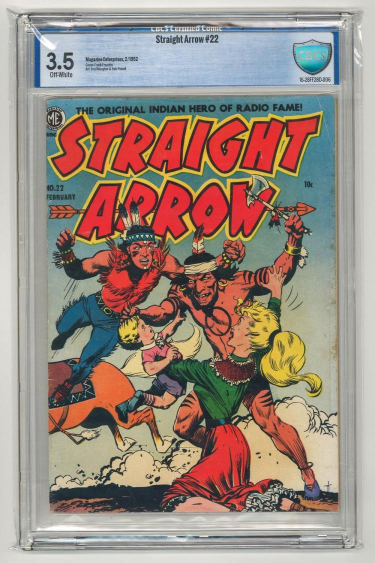 CBCS 3.5 Straight Arrow #22 1952