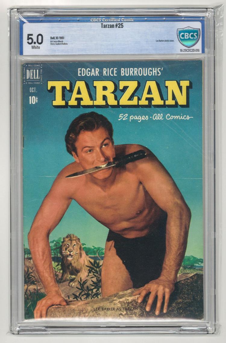 CBCS 5.0 Tarzan #25 1951