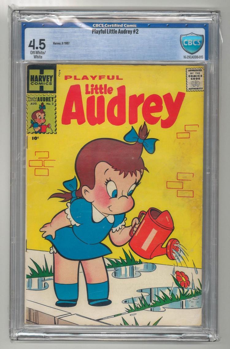 CBCS 4.5 Playful Little Audrey #2 1957