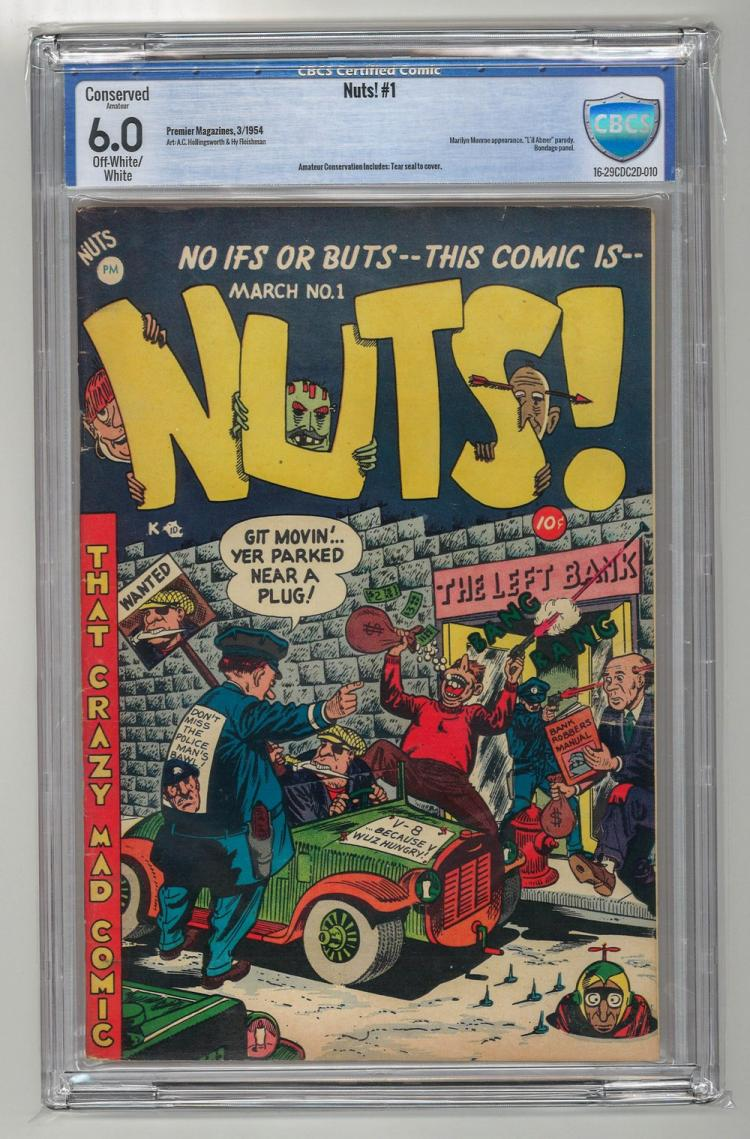 CBCS 6.0 Nuts! #1 1954