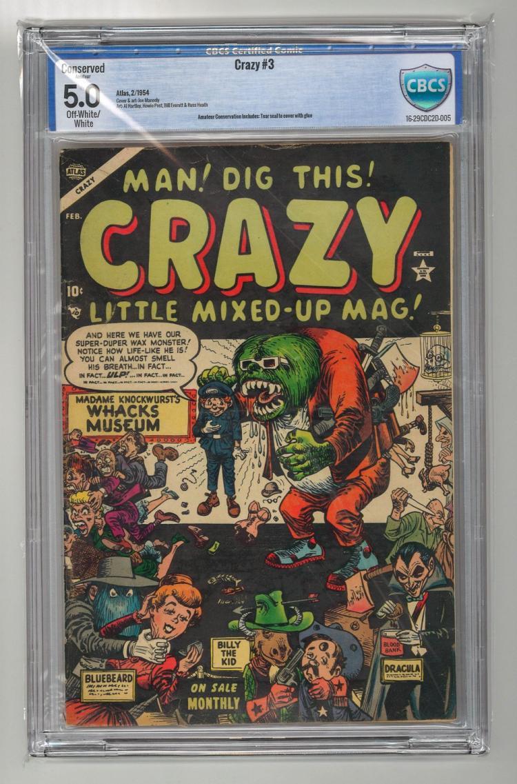 CBCS 5.0 Crazy #3 1954