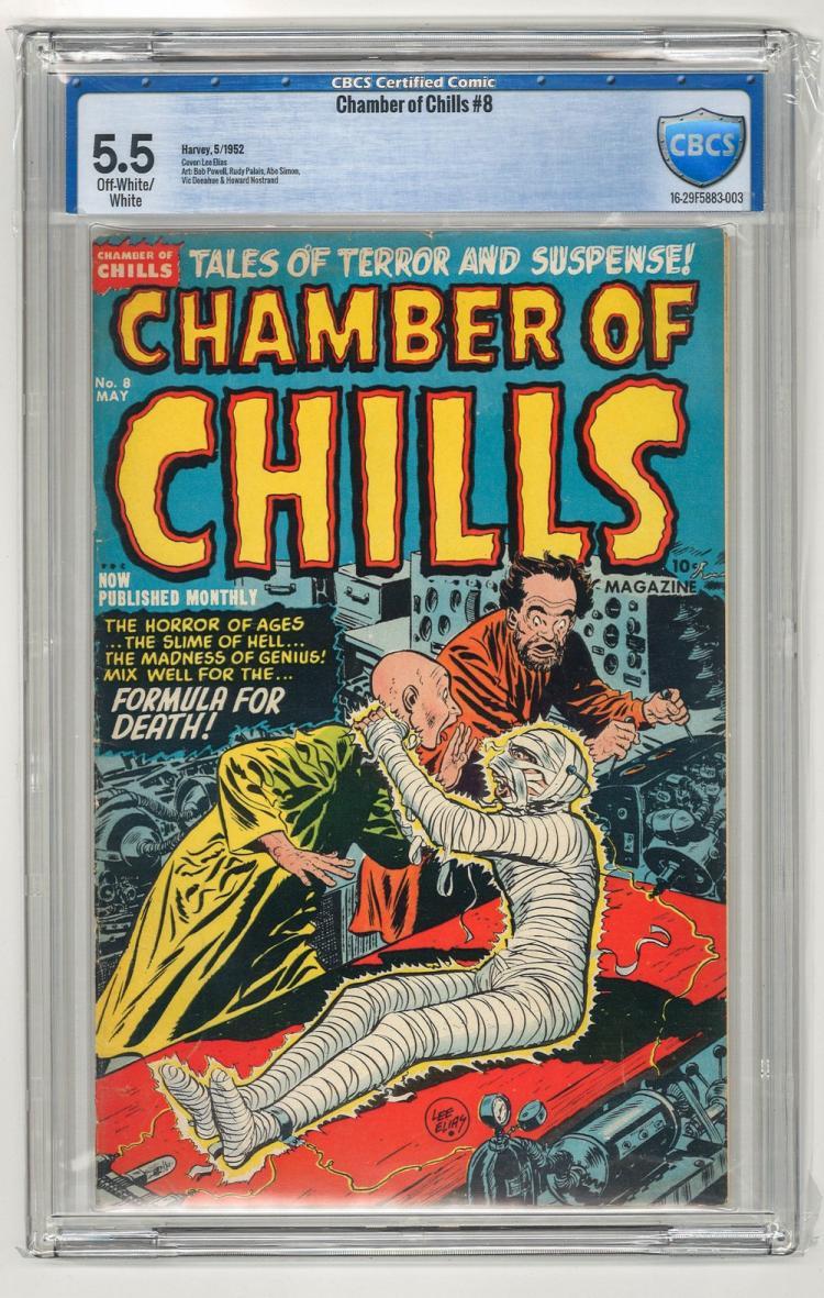 CBCS 5.5 Chamber of Chills #8 1952