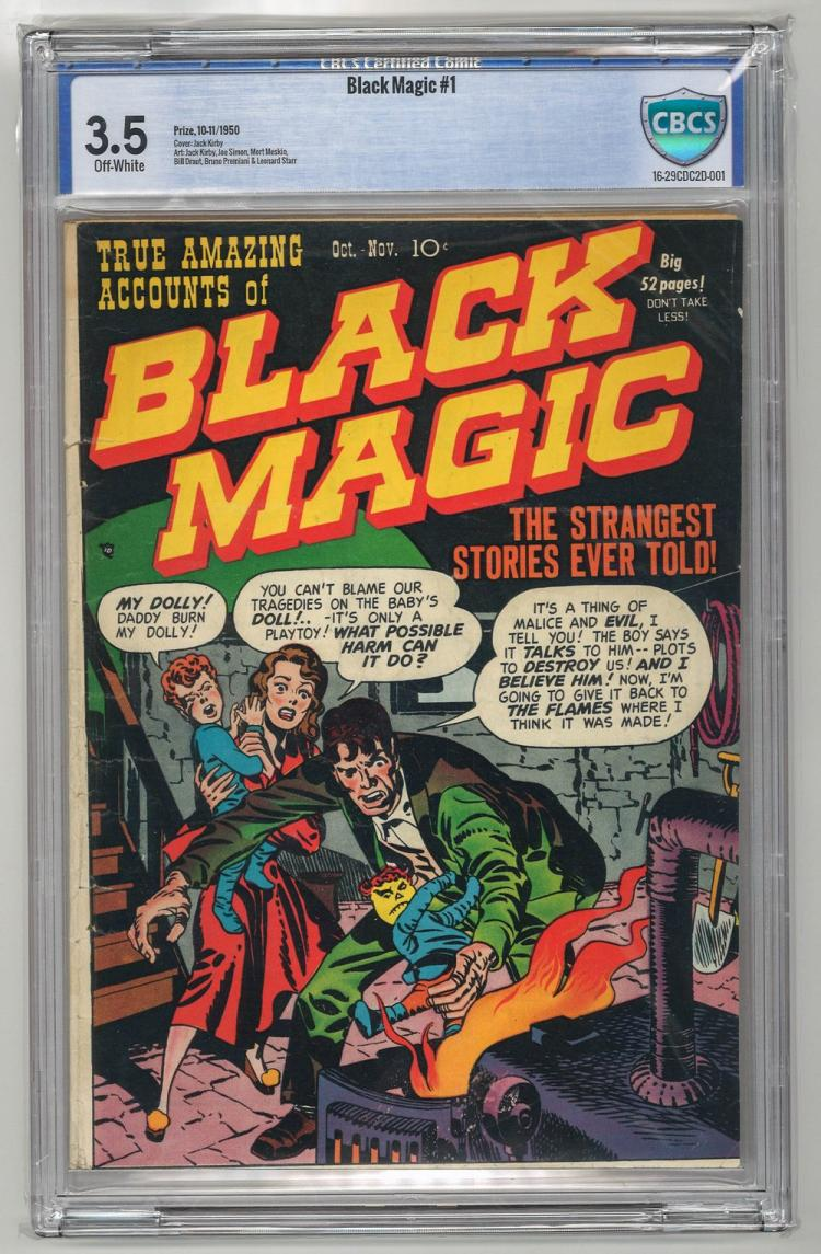 CBCS 3.5 Black Magic #1 1950