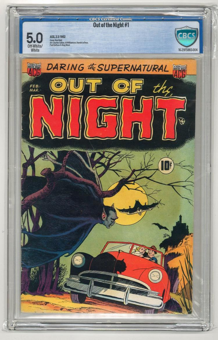 CBCS 5.0 Out of the Night #1 1952
