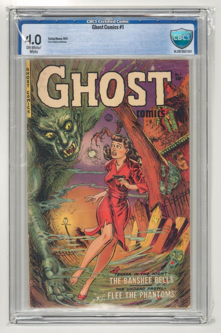 CBCS 4.0 Ghost Comics #1 1951