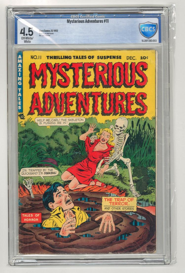 CBCS 4.5 Mysterious Adventures #11 1952