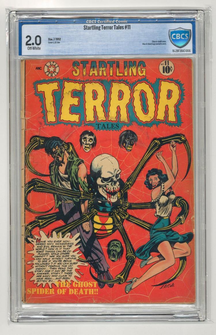 CBCS 2.0 Startling Terror Tales #11 1952