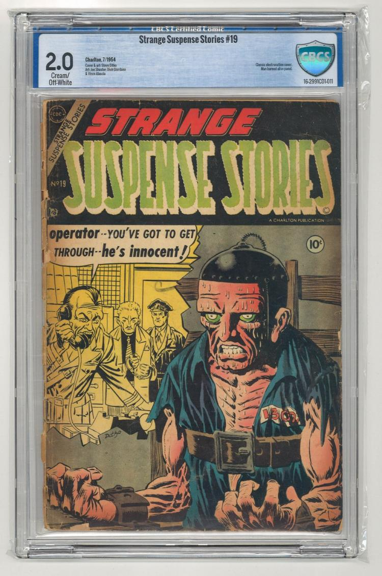 CBCS 2.0 Strange Suspense Stories #19 1954