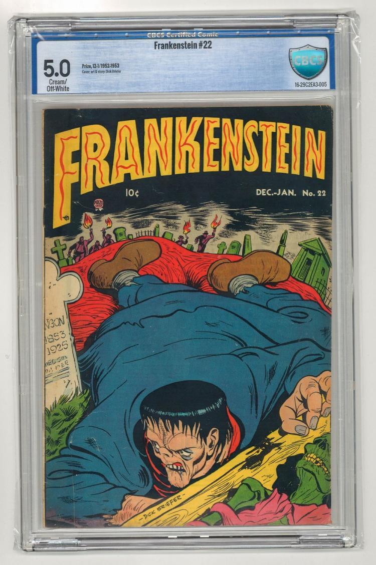 CBCS 5.0 Frankenstein #22 1952-1953