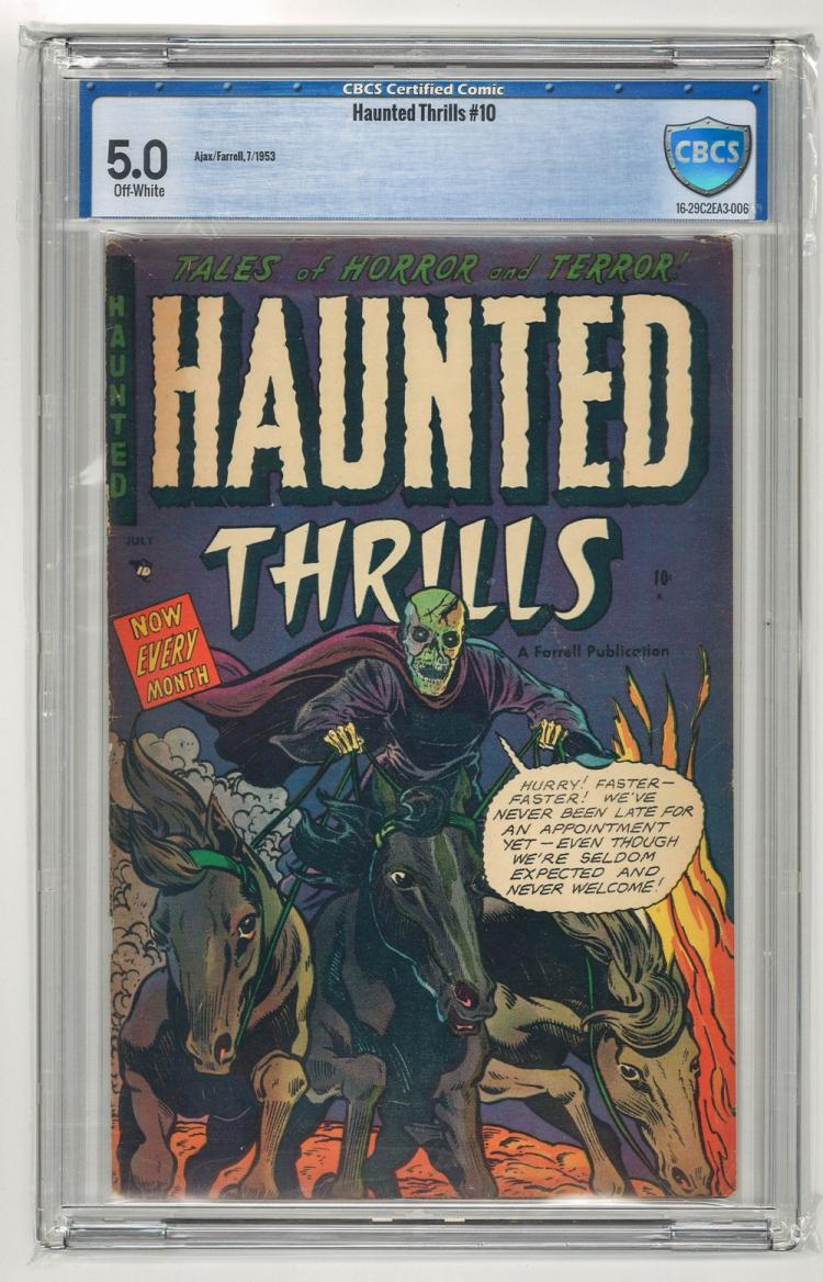 CBCS 5.0 Hanted Thrills #10 1953