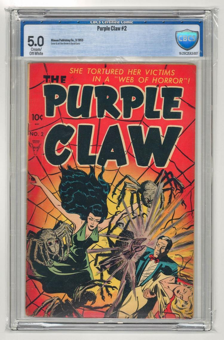 CBCS 5.0 Purple Claw #2 1953