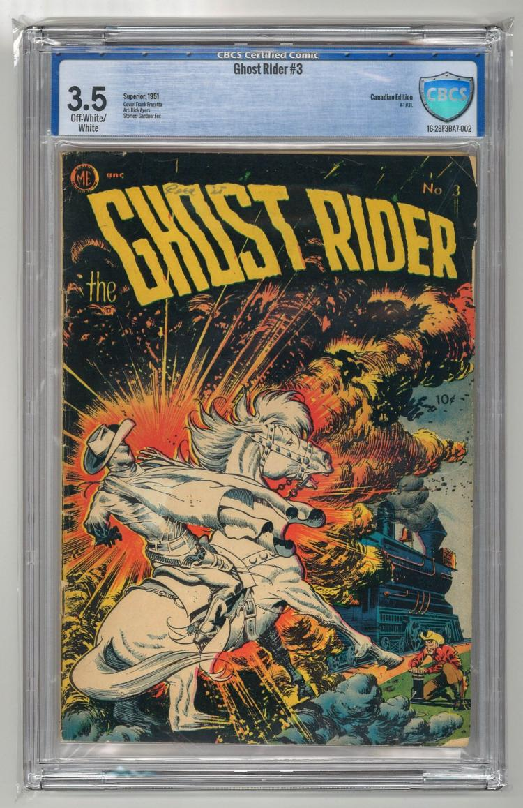 CBCS 3.5 Ghost Rider #3 1951