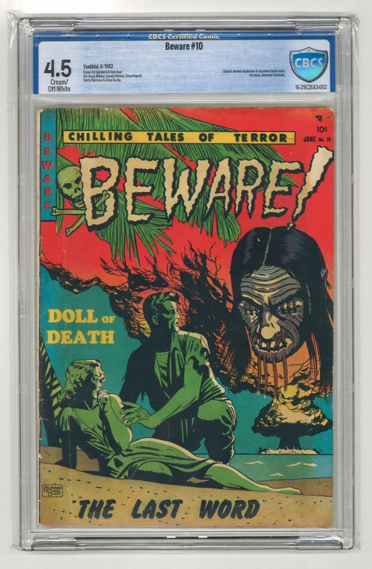 CBCS 4.5 Beware #10 1952