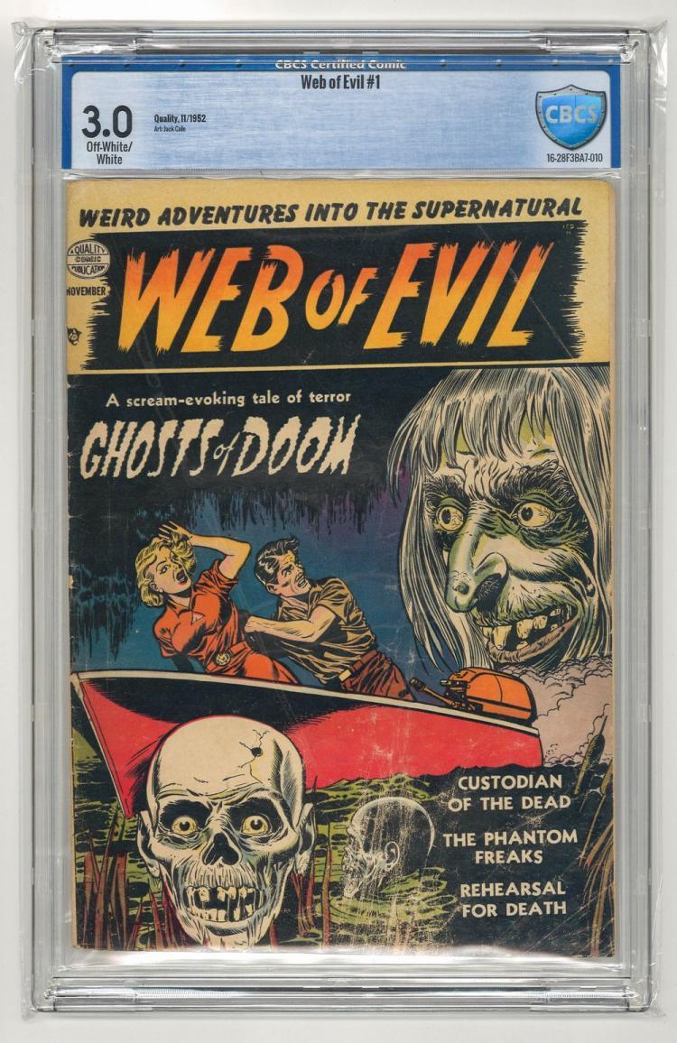 CBCS 3.0 Web of Evil #1 1952
