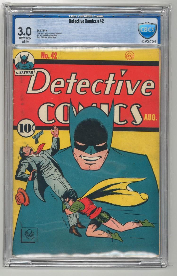 CBCS 3.0 Detective Comics #42 1940