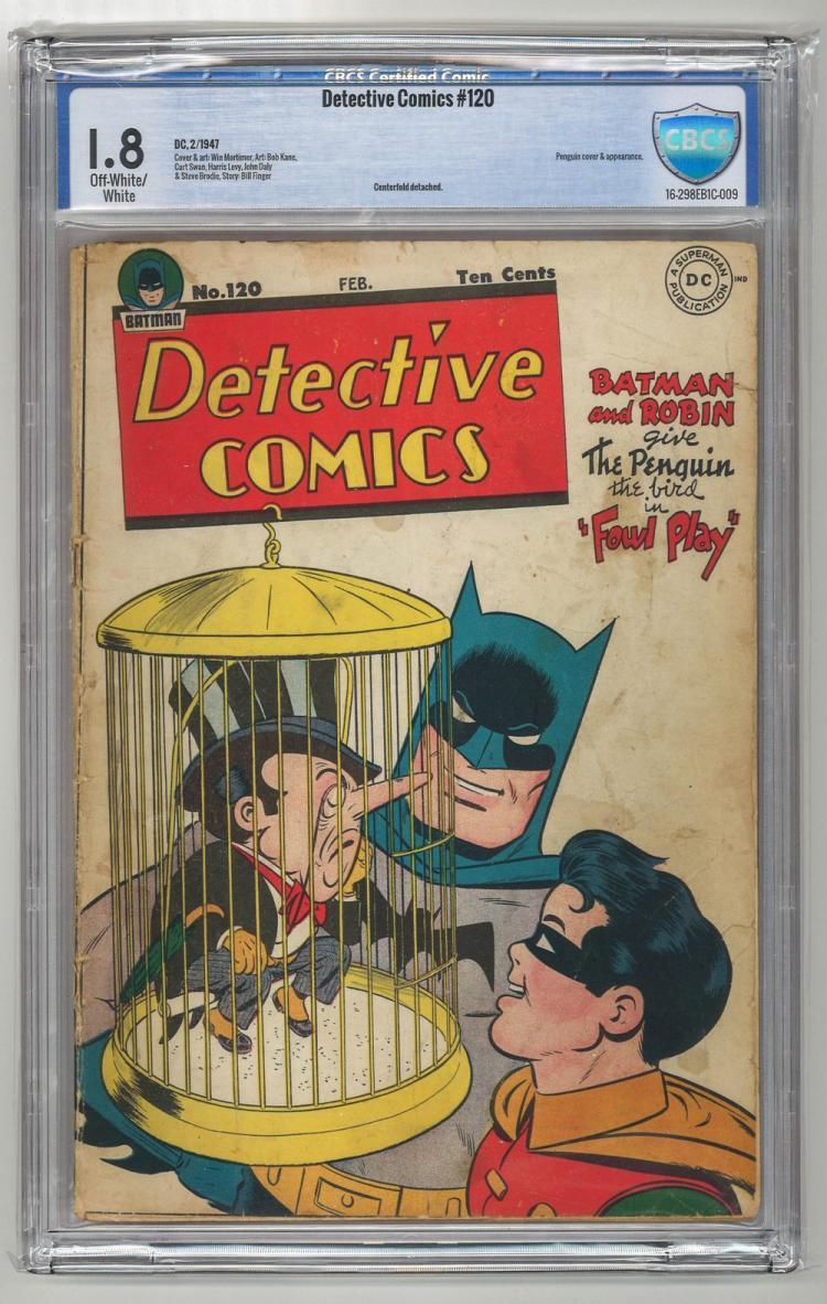 CBCS 1.8 Detective Comics #120 1947