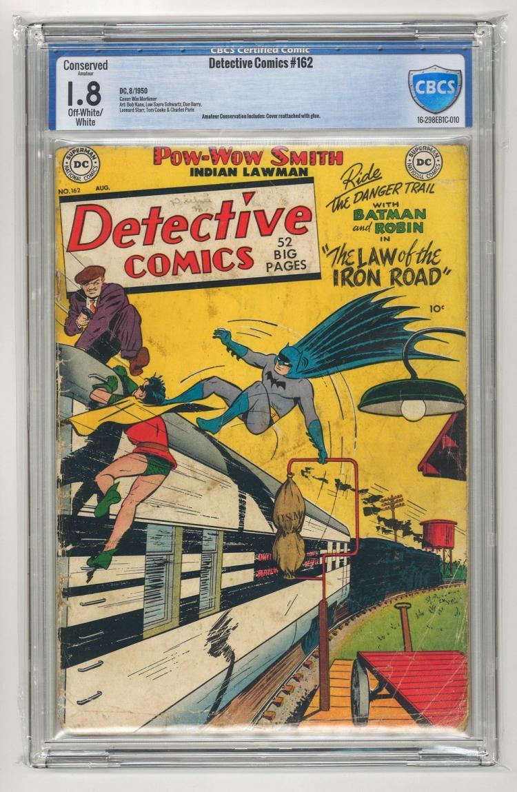 CBCS 1.8 Detective Comics #162 1950