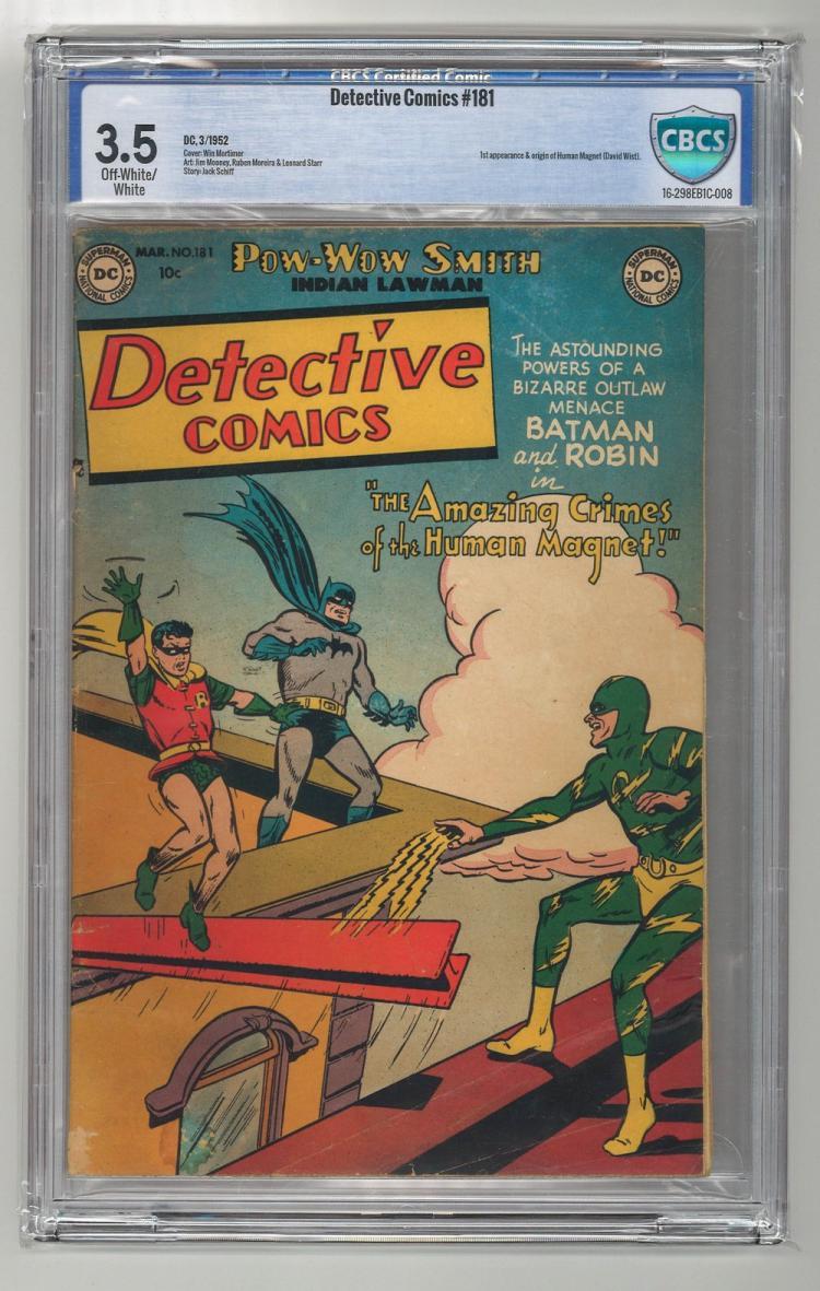 CBCS 3.5 Detective Comics #181 1952