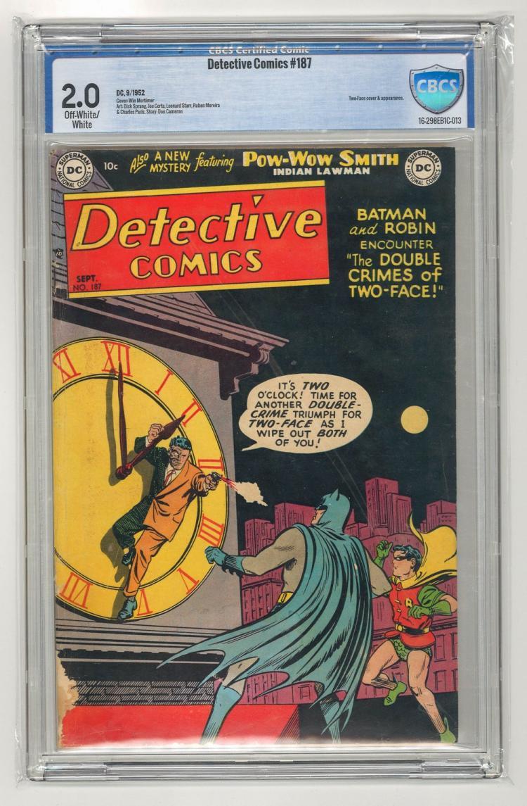CBCS 2.0 Detective Comics #187 1952