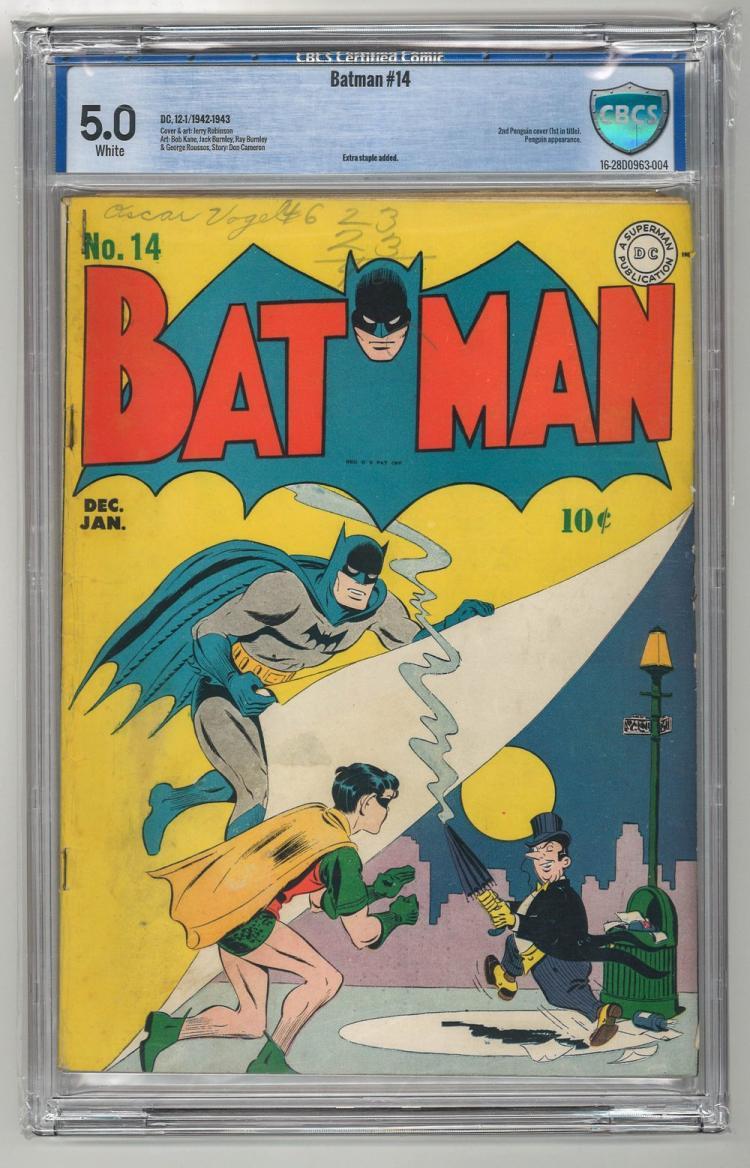 CBCS 5.0 Batman #14 1942-1943