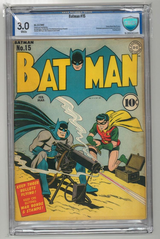 CBCS 3.0 Batman #15 1943