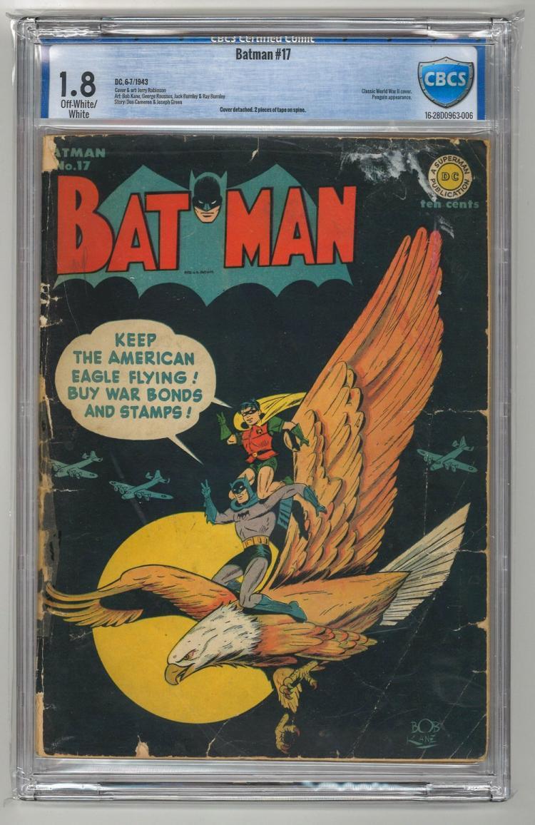 CBCS 1.8 Batman #17 1943