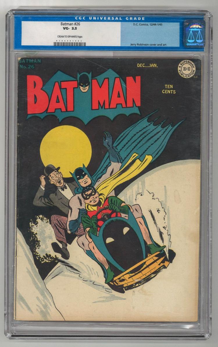 CGC 3.5 Batman #26 1944-1945
