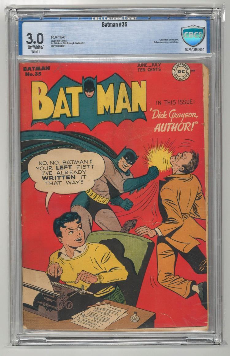 CBCS 3.0 Batman #35 1946
