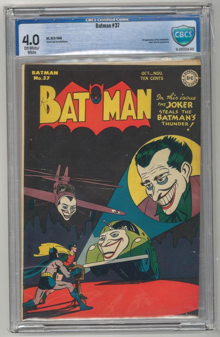 CBCS 4.0 Batman #37 1946