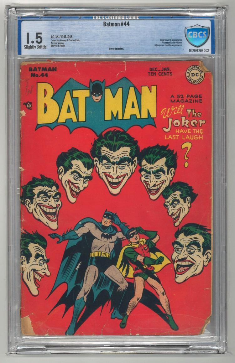 CBCS 1.5 Batman #44 1947-1948