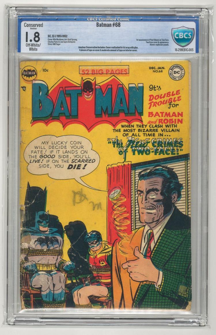 CBCS 1.8 Batman #68 1951-1952
