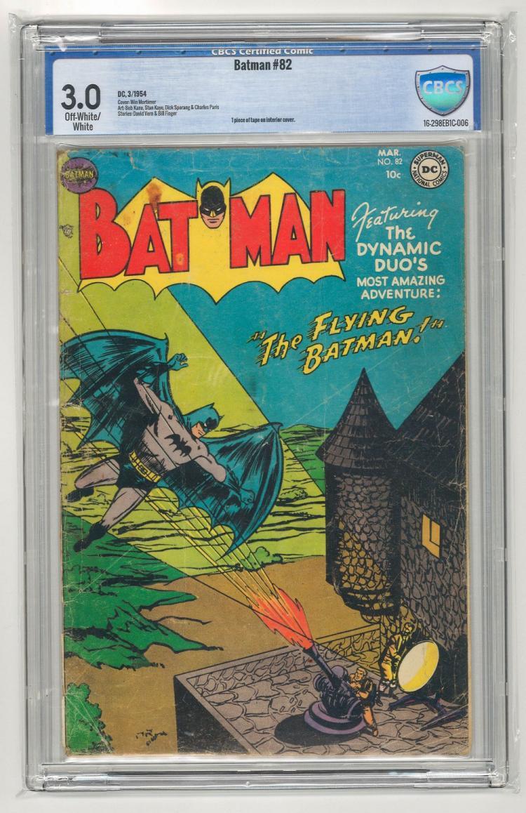 CBCS 3.0 Batman #82 1954