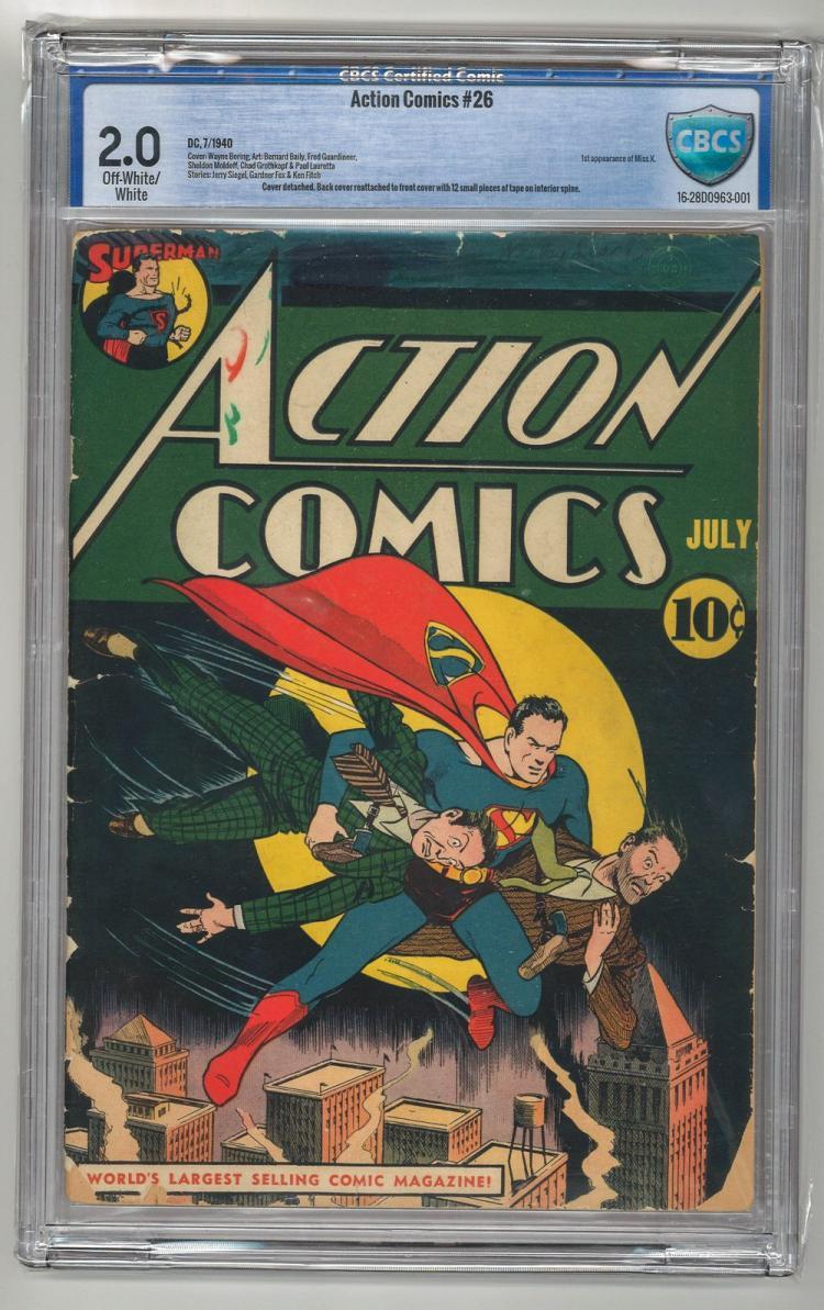 CBCS 2.0 Action Comics #26 1940