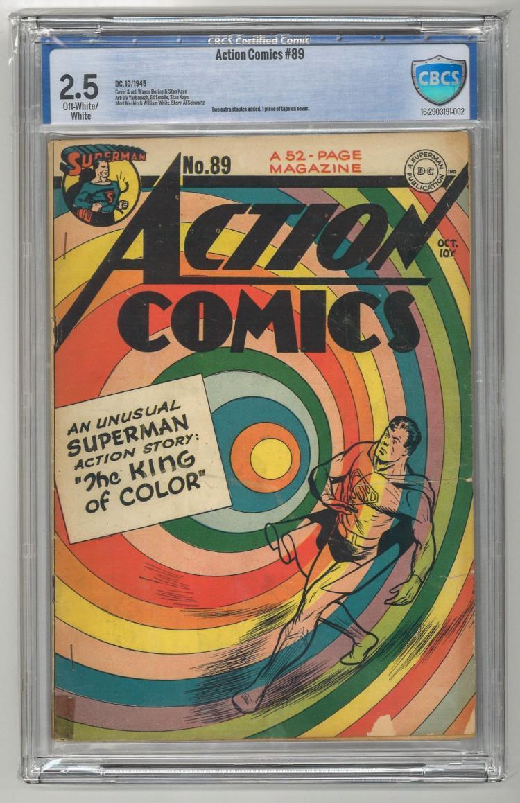 CBCS 2.5 Action Comics #89 1945