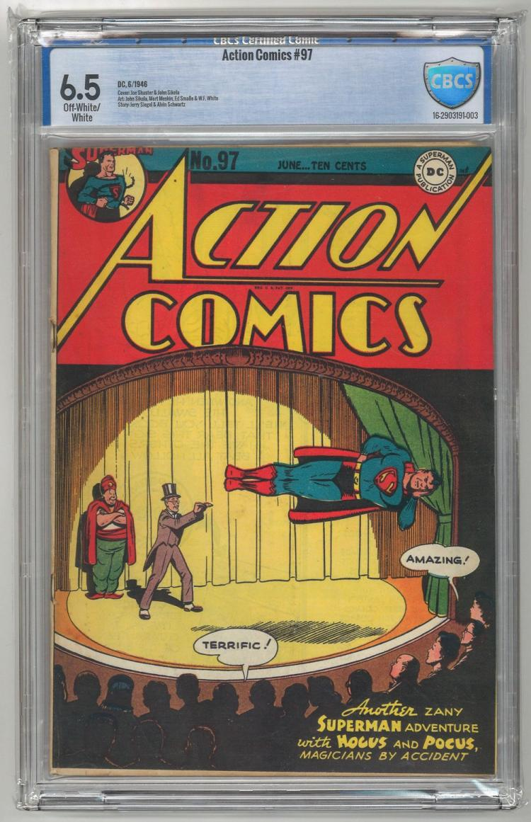 CBCS 6.5 Action Comics #97 1946
