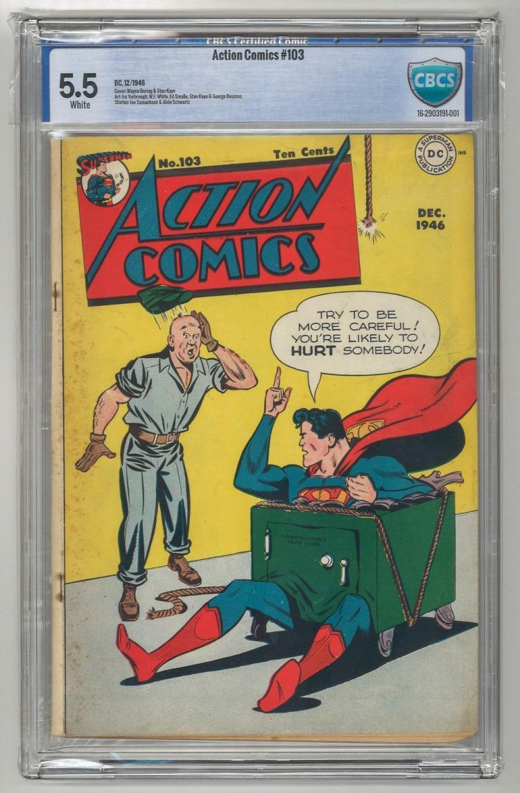 CBCS 5.5 Action Comics #103 1946