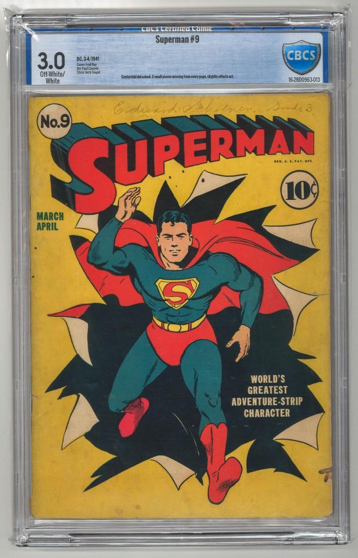 CBCS 3.0 Superman #9 1941