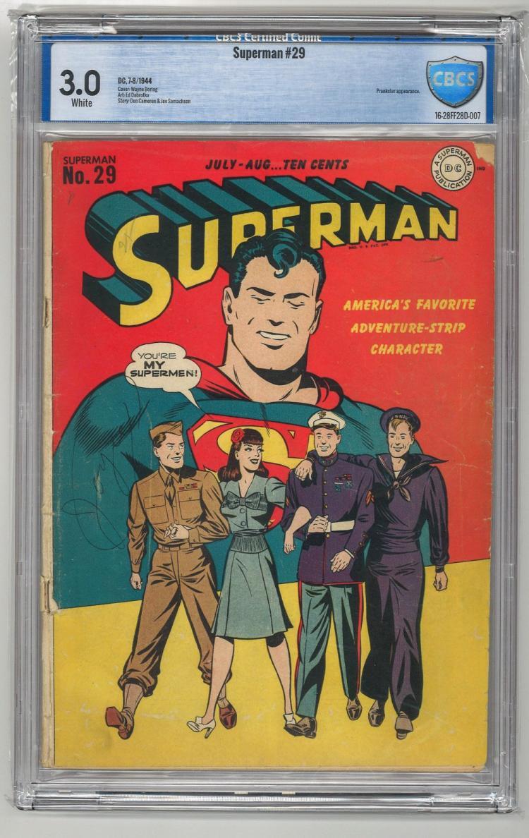 CBCS 3.0 Superman #29 1944