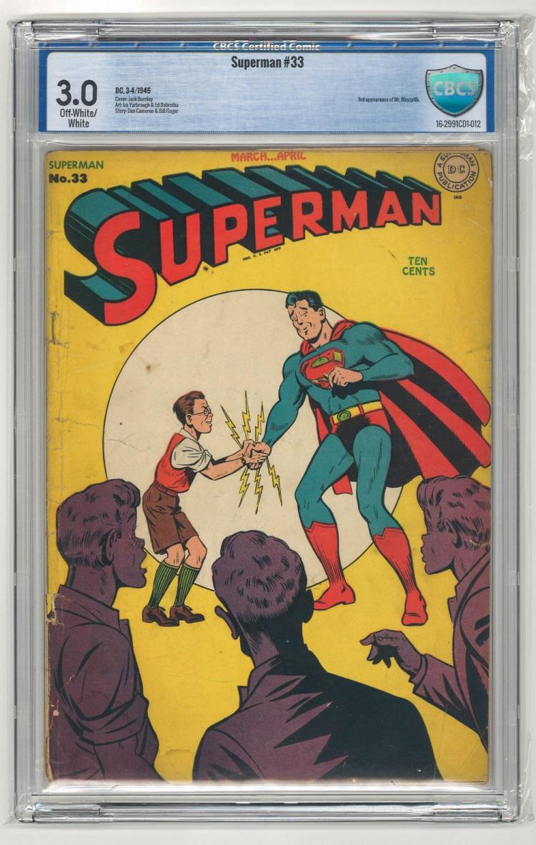 CBCS 3.0 Superman #33 1945