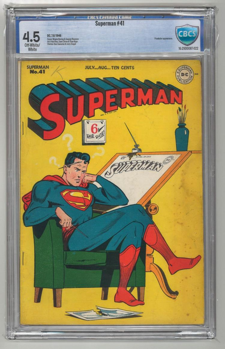 CBCS 4.5 Superman #41 1946