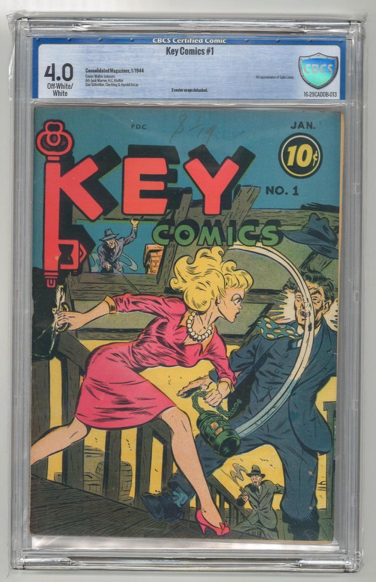 CBCS 4.0 Key Comics #1 1944
