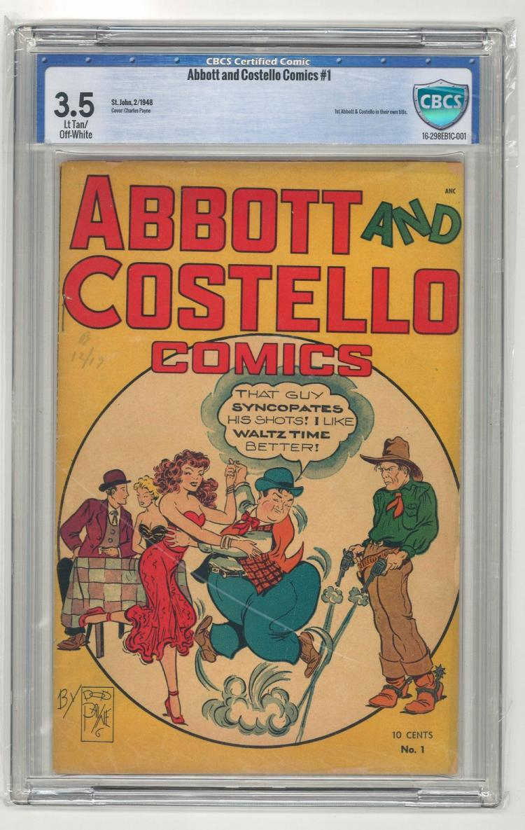 CBCS 3.5 Abbott and Costello Comics #1 1948