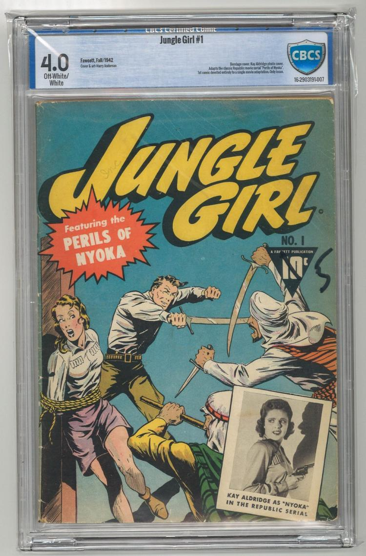 CBCS 4.0 Jungle Girl #1 1942