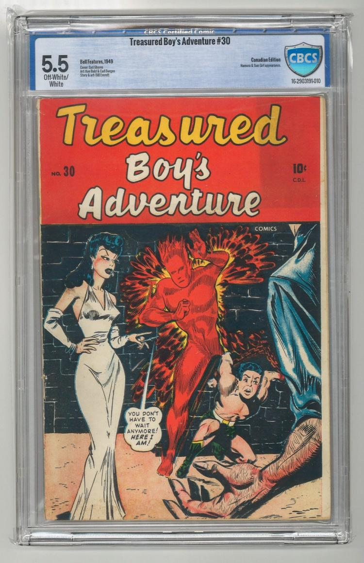 CBCS 5.5 Treasured Boy's Adventure #30 1949