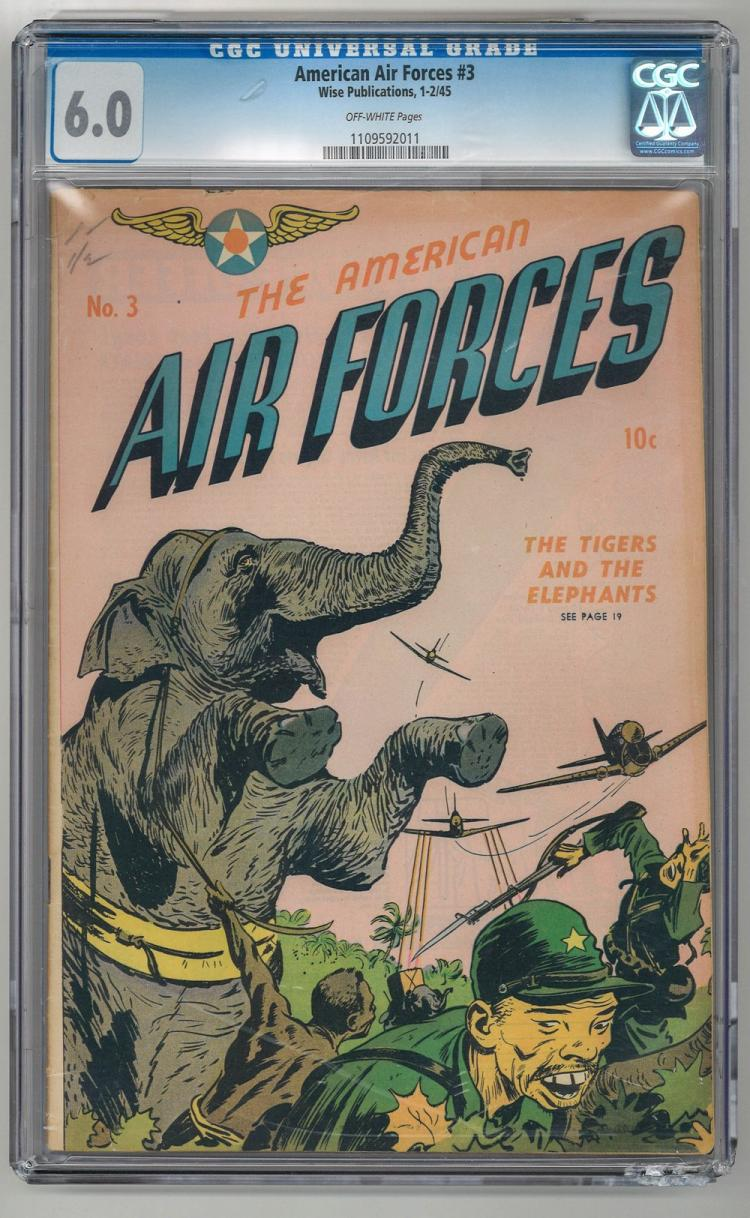CGC 6.0 American Air Forces #3 1945