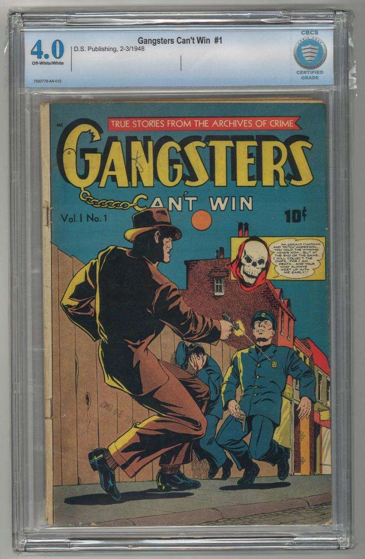 CBCS 4.0 Gangsters Can't Win #1 1948