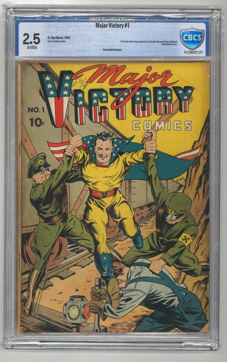 CBCS 2.5 Major Victory #1 1944