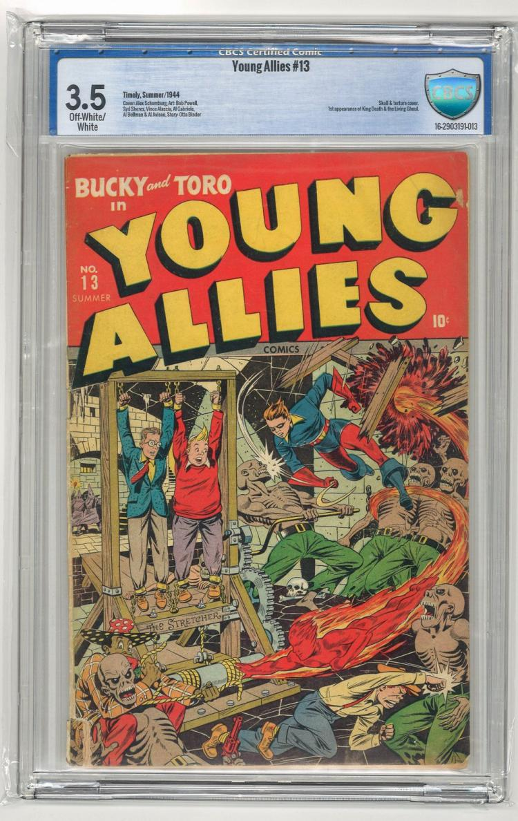 CBCS 3.5 Young Allies #13 1944