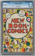 CGC 7.0 New Book of Comics #2 1938